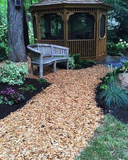 Woodchip for Landscape Gardening Use in Pembrokeshire
