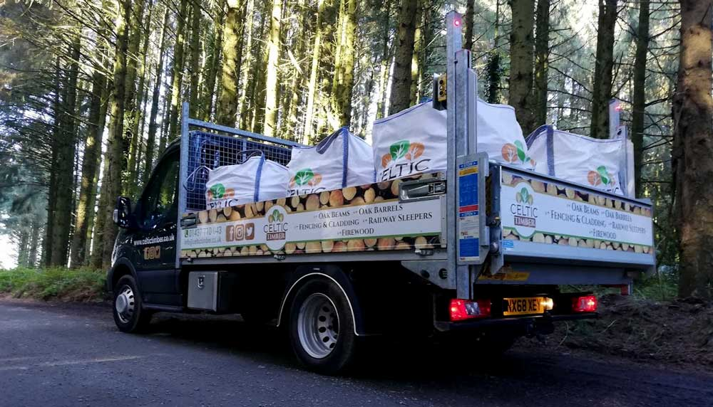 Kiln Dried Hardwood Firewood Logs Delivered in Pembrokeshire
