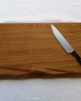 James Martin Style Live Edge Chopping Board Chunky Oak