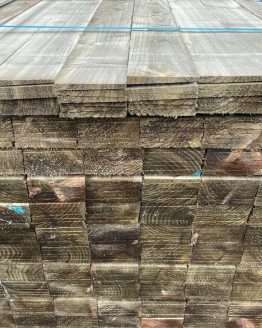 Treated Feather Edged Fencing Boards