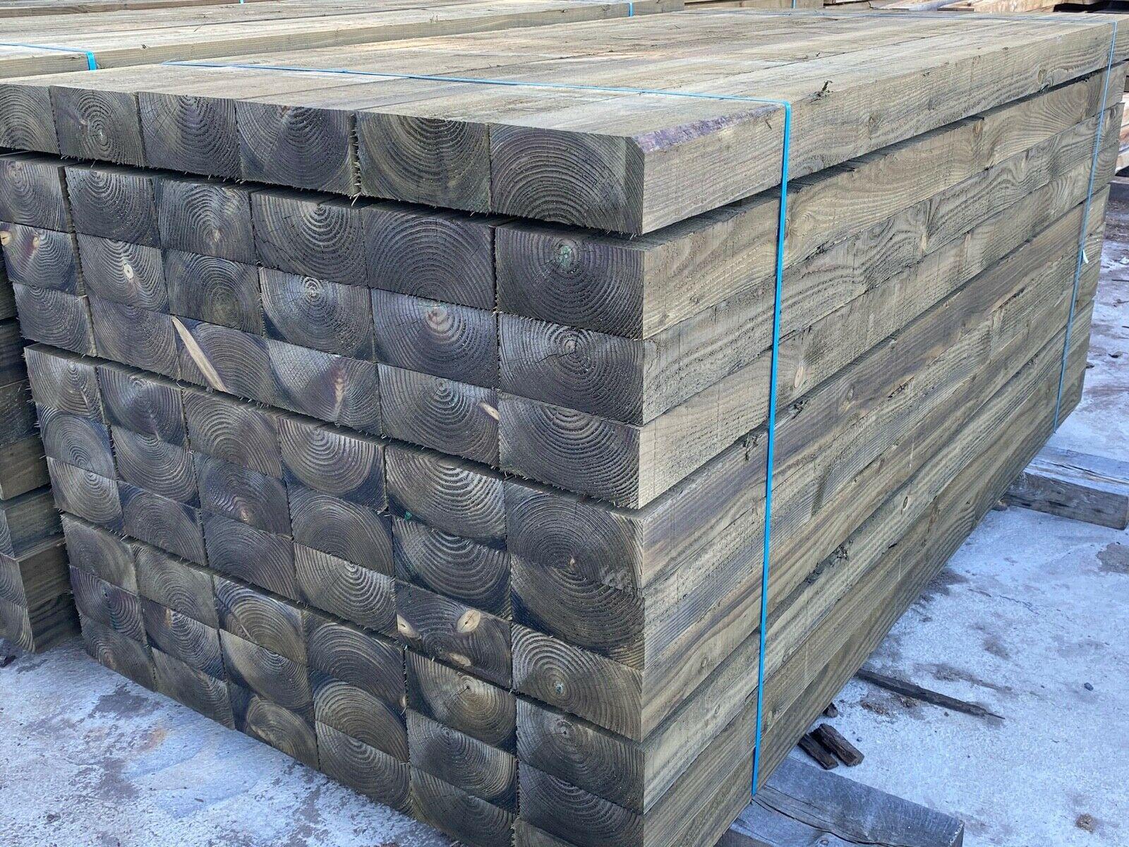 Treated Softwood Railway Sleepers • Celtic Timber
