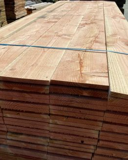 Wide Straight Edge Larch Boards
