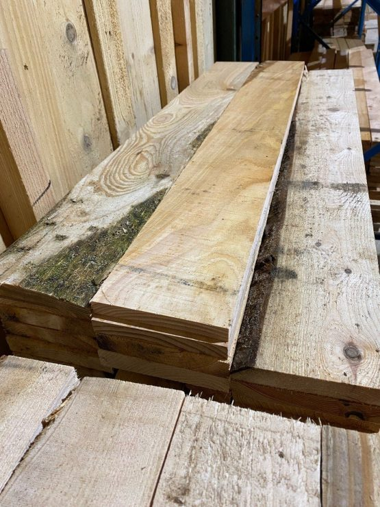 Clearance Second Grade Larch and Cedar Softwood Boards