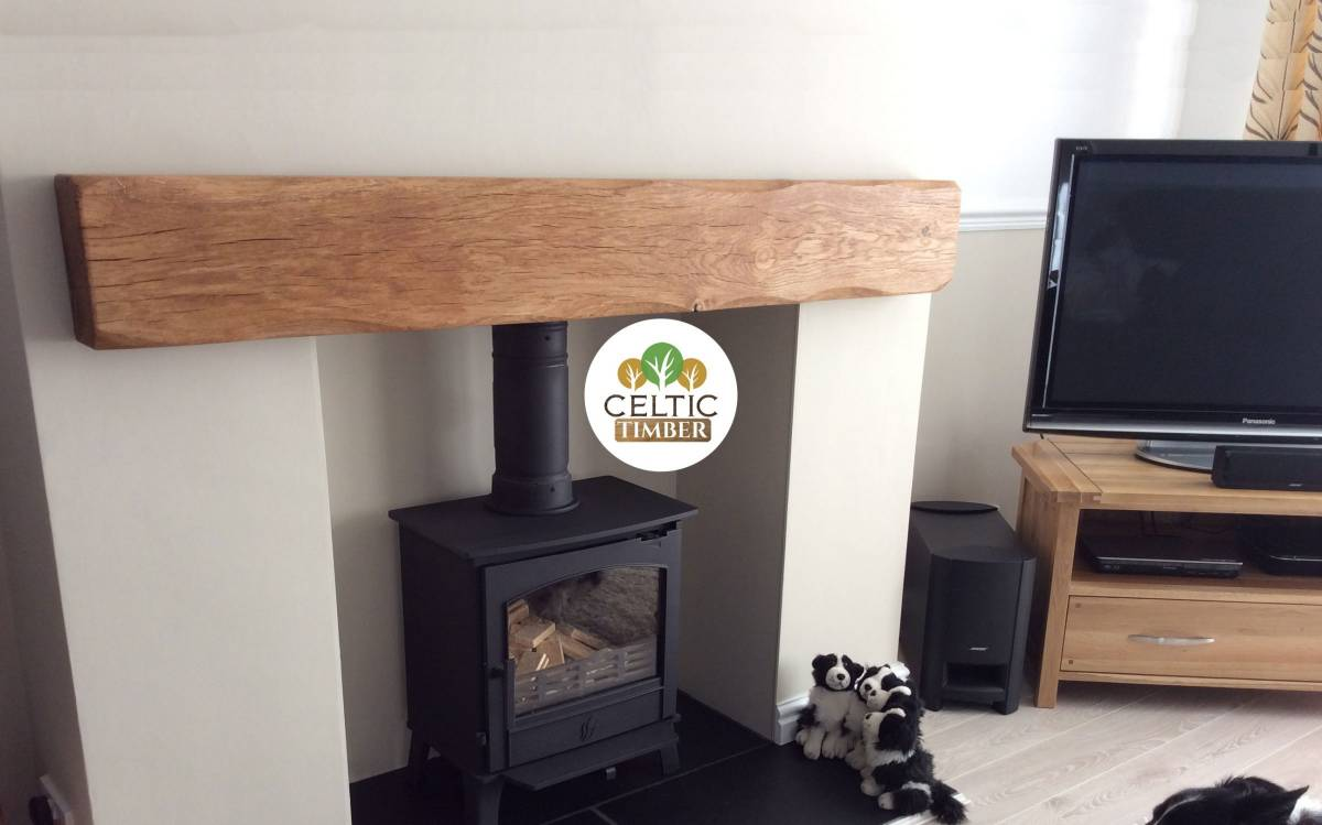 Celtic Timber Oak Beam mantles, Barrels and Homeware